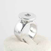 Mix sizes6, 7,8,9,10 statement high quality 18-20mm stainless steel snap button rings jewelry for men