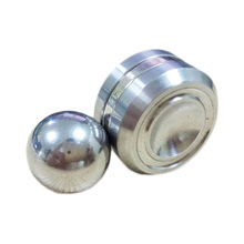 New DIY Spinner Fidget Toy Stainless Steel Ball For Spinner Hand Metal For Autism Rotation Time Long Anti Stress(China)