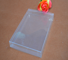 Size:1.5*8*15cm, pvc transparent packing box , clear plastic folding box for packing , clear plastic candy boxes