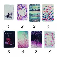 Colorful  Soft TPU Silicon Cover Case for iPad mini 4  Silicon Ultra Thin Slim Skin Shell for iPad mini Case