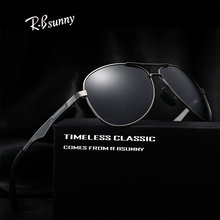 R.Bsunny brand polarized sunglasses men Summer fashion classic women leisure sun glasses Alloy frame Polaroid lens UV400 Goggles - rbsunny Store store