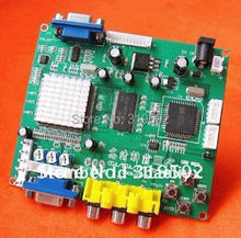 New arrival CGA TO VGA converter/CGA/ECGA/YUV to VGA PCB/one VGA output-game accessory for arcade game machine/LCD game machine
