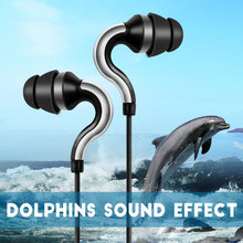 Ipsdi 107 Dolphins Sound Earphone Headsets Super Bass earphones Stereo Earbuds for mobile phone MP3 MP4 Amazing Sound