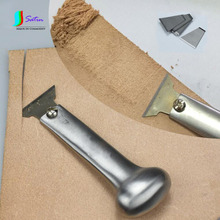 Stainless Steel Leather Cutting Tool Set for Leather Craft Engraving DIY Tool Cut Knife with Blades S0309H