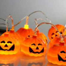 New LED Halloween Lights Series Of Pumpkin Lamp Battery Lights Festive Decorative Lights Wedding Decoration Navidad Party Decor