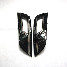 2 PCS RS4 STYLE CHROME FOG LIGHT GRILLE GRILL COVER CAD9A402 CAD 9A4 02 FOR  A4 2013 UP