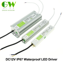 IP67 Waterproof LED Driver DC12V Lighting Transformers for Outdoor Lighs Power Supply 10W 20W 30W 45W 60W 100W 150W