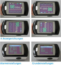 ten pic CMS50E Free Ship 16 CMS50E Cost Price Color OLED Display Black Fingertip Pulse Oximeter, Blood Oxygen Monitor