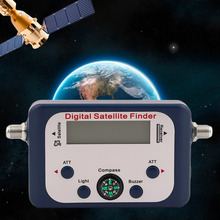 GSF-9506 Digital Satfinder With LCD Screen Display Universal TV Satellite Finder Meter Satellite Signal Finder Tester(China)