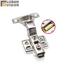 304 stainless steel damping,Removable,Mute,cabinet door hinge,Buffer hydraulic hinge,Half cover,Furniture Hardware
