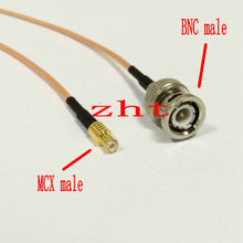 20PCS RG316 coaxial cable BNC male TO straight mcx male Cable 30CM