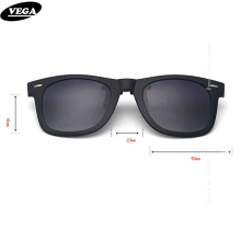 VEGA Polarized Clip On Sunglasses Over Prescription Glasses With Box Fit Over Glasses Sunglasses Flip Up Clips  5840