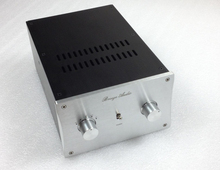 QUEENWAY STK-4234 CNC Full aluminum chassis Audio box desktop power amplifier case 288mm*198mm*120mm  288*198*120mm