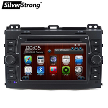 Free shipping 2din Car DVD GPS for Toyota Prado 120 Navigation RDS Radio GPS Navigation without canbus