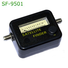 Satellite Finder Find Alignment Signal Meter Receptor For Sat Dish TV LNB Direc Digital TV Signal Amplifier Satfinder SF-9501