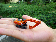 HITACHI 200 Hitachi excavator truck model personality ornaments mobile chain keychain UH France(China)