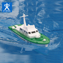 Free shipping  Mini Dragon Electric Powered Missile Boat model Assembly model ship handmade DIY toy Warship children gift