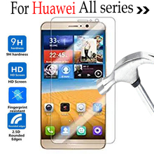 For huawei P9 P6 V8 G8 Y6 mate 7 mate 9 P9 Plus Cover Tempered Glass Film case On Huawei honor 4C 5C 5X 7i Screen Protector