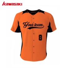 2017 Kawasaki Brand Sublimation Custom Baseball Jersey Bits 100% Polyester High Quality Sports Softball Team Wear For Men/ Women(China)