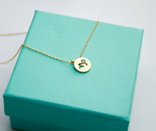 1PCS Zodiac Capricorn Necklace Signs 12 Constellation Necklace Horoscope Astrology Disc Necklace Galaxy Star Necklaces