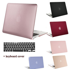 MOSISO for Macbook Air 13 11 Crystal Matte Plastic Hard Cover Case for Mac book Pro 13 15 Retina Laptop Shell Case+Keyboard Film(China)