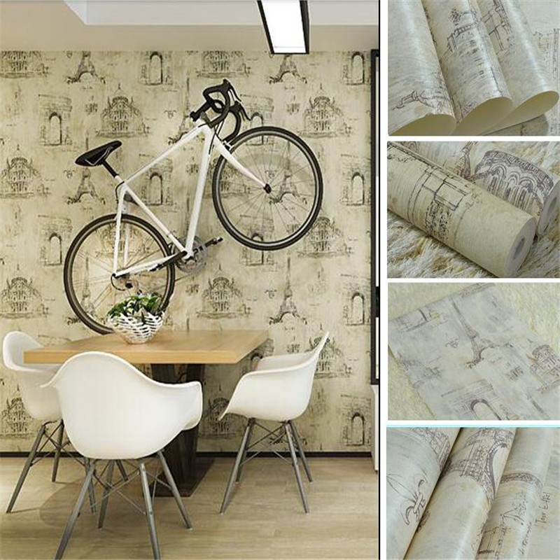 modern photo wallpaper european vintage background wallpaper roll bedroom living large wallpaper castle iron tower pattern<br>
