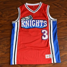 MM MASMIG Calvin Cambridge #3 Knights Basketball Jersey Stitched Red Like Mike S M L XL XXL XXXL(China)