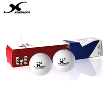 XuShaoFa 40+ Poly 3-Star Table Tennis Balls XSF Seamless New Material White Ping Pong Balls ITTF Approved
