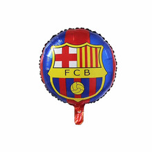 New Champions League Club Barcelona Aluminium Foil Balloon FCB Team Logo Balloon Barca Soccer Fans Celebration Balloons(China)