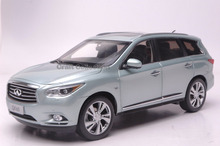 * Silver Blue 1/18 Infiniti QX60 2014 Diecast Model Cars Hot Selling Alloy Scale Models Limited Edition