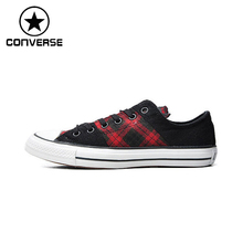 Original Converse Unisex Low top Skateboarding Shoes Canvas Sneakers(China)
