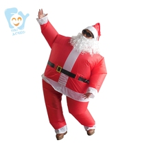 Christmas Costumes For Adults Cosplay Inflatable Santa Claus Costume Halloween Carnival Costume Adult Fancy Dress