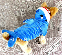 New Coming Shark Cosplay Pet Dogs costum Coat  Free Shipping By china post  new clothing for dog