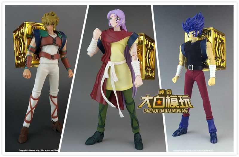 Saint Seiya AE model Gold Soul God Aries Mu cancer retail Only Casual Suit Metal Cloth Seris<br>