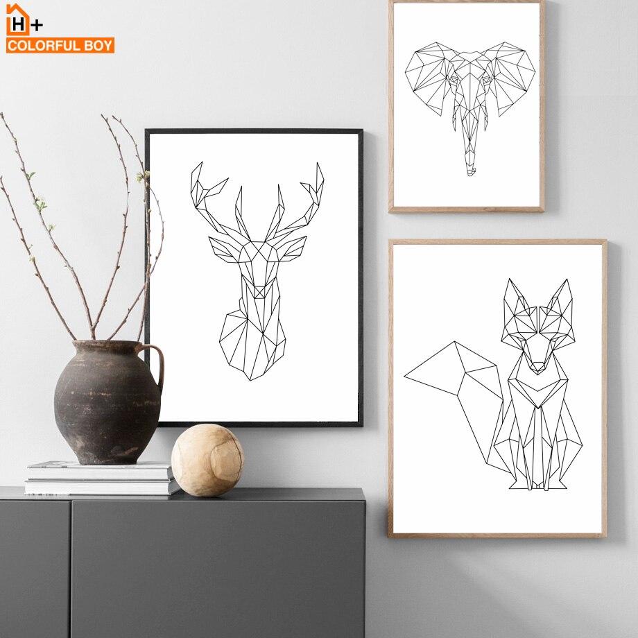John Heaviside Clark caza del zorro La muerte Pared Arte Impresión Enmarcado 12x16