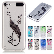 "Cartoon Soft Silicone Case For iPod touch 5 Case iPod touch 6 Case 4"" Back Cover For iPod touch 5 Cover iPod touch 6 Cover Capa"