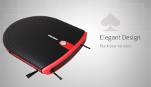 New E630 Slim Robot vacuum cleaner for home with Z-type 350ml dustbin U shape Auto recharge Robot Aspirador