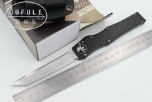 JUFULE Made Marfione Halo V 5 KYDEX Sheath D2 blade aluminum handle camping hunting survival outdoor EDC tool kitchen knife