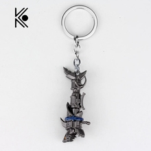 League Of Legendes Cannon LOL Metal Cool Pendant Key Rings Keychain Gift For Fans Game Jewelry Factory Direct Sale Free Sipping(China)