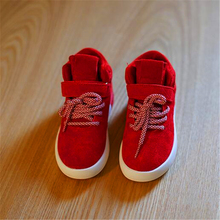 Hot sales High quality children's cow leather sneakers fashion boys/girls Breathable casual sport shoes kid's high top shoes