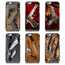 Pistolas Glock weapon gun Bullet Cover Case For Iphone 4 4s 5 5c 5s se 6 6s 7 8 plus x xiaomi redmi note oneplus 3 3T 4X 3s