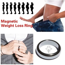 Magnetic Medical Magnetic Weight Loss Ring Slimming Tools Fitness Reduce Weight Ring(China)