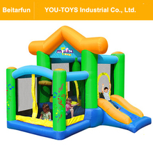2017 new arrival Child inflatable bouncer home air trampoline inflatable toy for jumping bounce house castle shape playground(China)