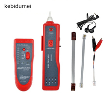 kebidumei High quality Telephone Network RJ45 RJ11 Cable Wire Tracker Phone Generator Tester Diagnose Tone Networking Tools(China)