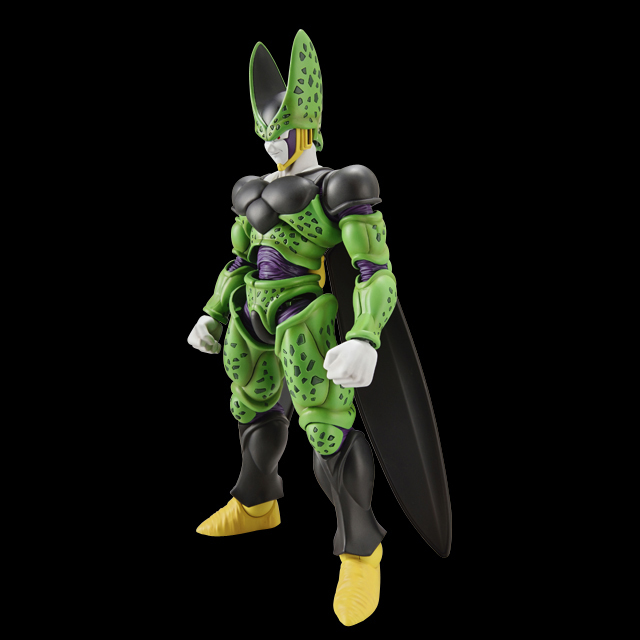 Anime Dragon Ball Z Original BANDAI Figure-rise Standard Assembly Action Figure - Cell (Complete Form) Plastic Model<br>