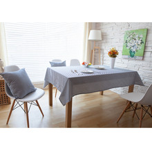 Retro Wood Striped Tables table Cloth Cotton Linen Fabric Dinner Tableclothes Wedding Party Decoration Tables Covers tablecloth