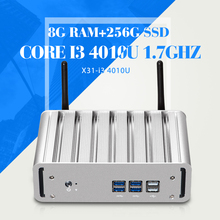Mini PC I3 4010u 8g Ram 256g Ssd Desktop Computer Fanless Design Mini Desktop Pc Small Computer Case Operative Memory DDR3