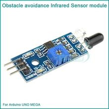 Free shipping IR Infrared Obstacle Avoidance Sensor Module for Arduino Smart Car Robot 3-wire Reflective Photoelectric New