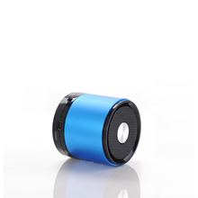 My vision 788S Best Corporate Gifts Blue Round Manual Bluetooth Speaker super bass bluetooth Speaker Laptop Speaker
