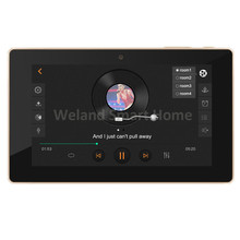 "7"" touch screen In wall android amplifier,home audio USB player, HDMI,WIFI audio digital stereo amplifier,home theater system"